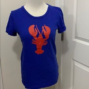 JCrew lobster tee